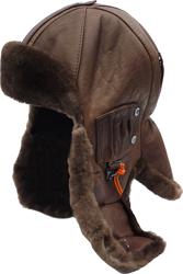 шлем меховой 6251--бобер